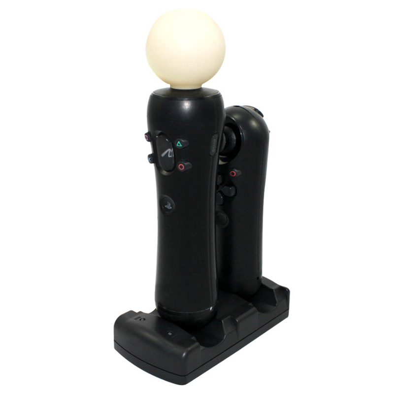 Image 3 - Charging Stations For PS3 move/PS3 Powered Dock Game Station Dual USB Dock Station Stand Ps3 Game Controller Power Supply-in Power Supplys from Consumer Electronics