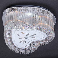 2014 2 Way Heart Shaped LED Crystal Ceiling Light