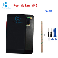 5 5 For Original For Meizu MX6 LCD Display And Touch Screen Screen Digitizer Assembly Repla