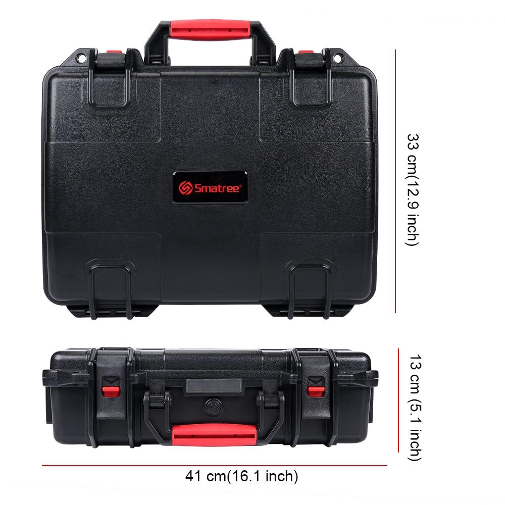 Smatree Impermeabile Custodia per il trasporto per DJI Mavic 2 Pro/DJI Mavic 2 Zoom Volare Più Combo, per DJI Controller Smart - 5