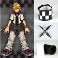 Athemis Fresco Kingdom Hearts Roxas Cosplay Disfraces accesorios pulsera de conjuntos de los dedos