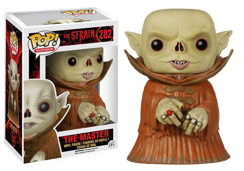 Funko pop Official TV: The Strain - The Master Vinyl Action Figure Collectible Model Toy with Original Box  official funko pop marvel x men logan wolverine vinyl action figure collectible model toy with original box