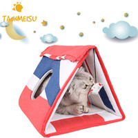 Multi functional Pet Cat Toy Climbing Frame Board for Scratching Cattery Mat Pet Toys Pet Supplies Drop Shipping 2017