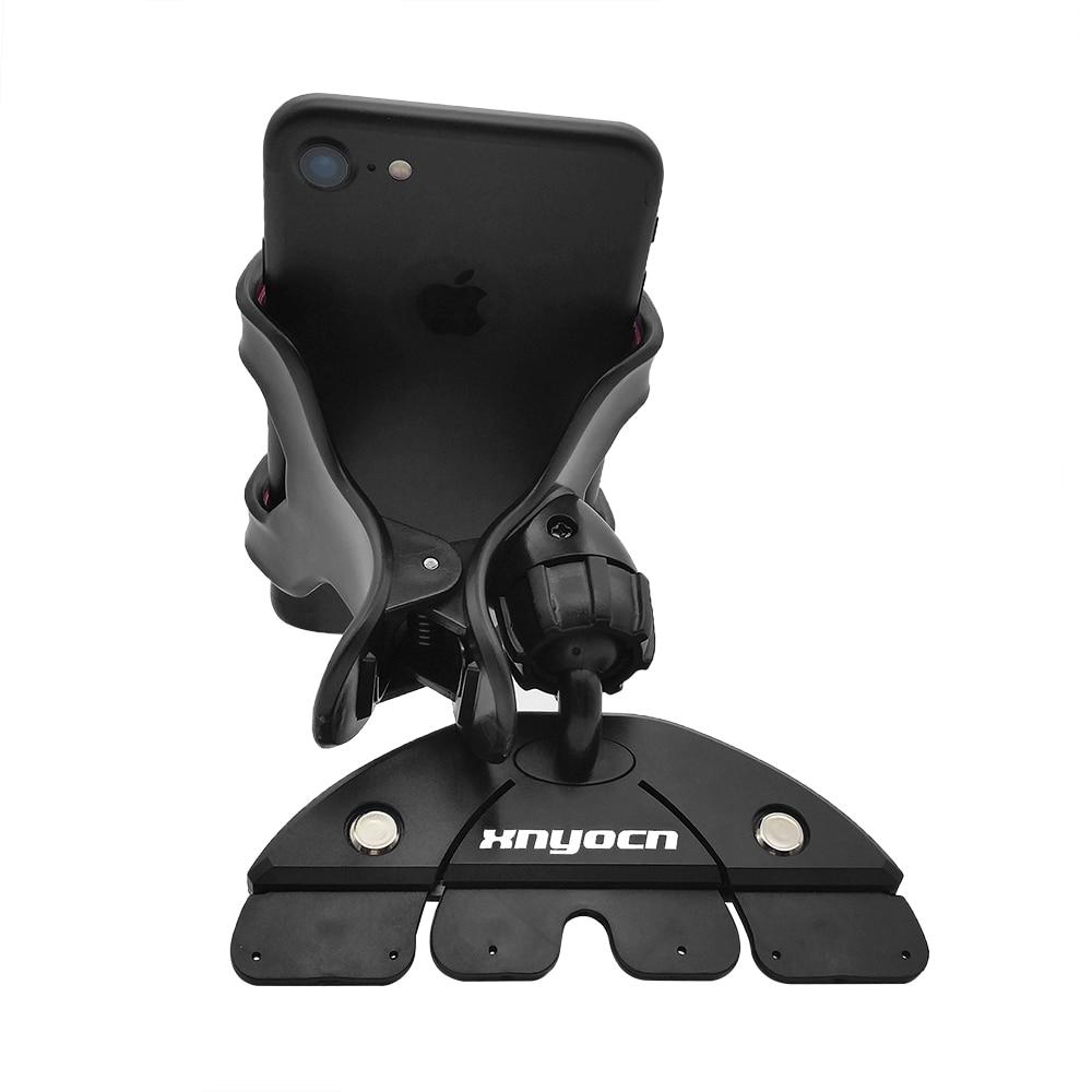 Universal CD Slot Car Cell Phone Holder Mount para iPhone SE 7 6S - Accesorios y repuestos para celulares - foto 4