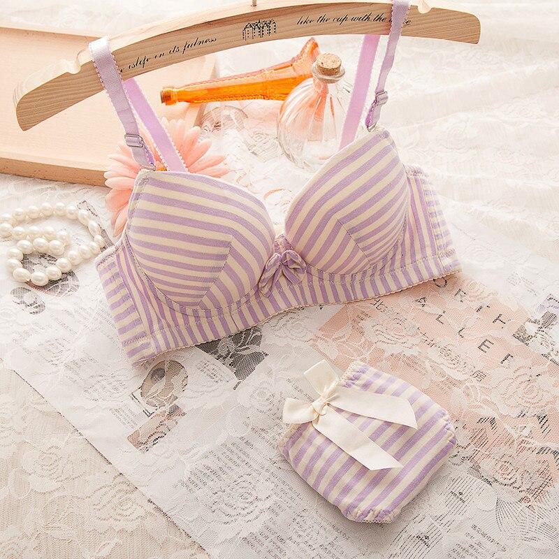 7dce6c1667 Aliexpress.com   Buy 2018 Puberty Teenage Girl Underwear Girls Training Bra+Panties  Children Underwear Sutia Para Meninas Kids Bra Set from Reliable girls ...