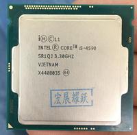 Процессор Intel Core I5 4590 I5 4590 LGA1150 22 нанометров Dual Core 100% работает должным образом настольный процессор