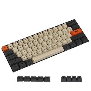 Image 4 - YMDK Carbon Dye Sub 108 87 61 Key Mac Keys Thick PBT OEM Profile Keycap For Standard 104 TKL 60% MX Switches Keyboard