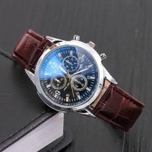 2018 שעון יוקרה גברים מותג פלדת תאריך עסקים לצפות Relogio Masculino דה Luxo קלאסי בציר Reloj Hombre PD351