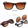 2016 gafas de Sol de Europa y América RETRO gafas de SOL Hombres y mujeres Doble flip Grandes gafas de Diseño decoración