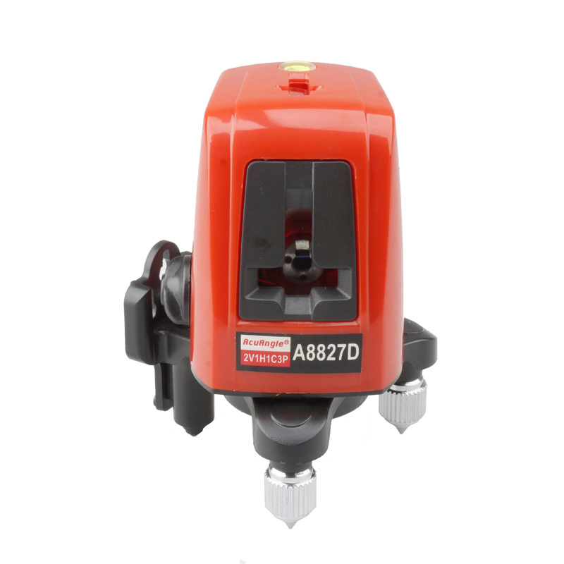 A8827D 3 Lines 3 Points Laser Level 2V1H3d Horizontal And Vertical Rotary 360 Degree Cross Laser Line LL12 right angle 90 degree vertical horizontal laser line projection square level