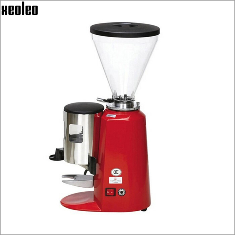 Xeoleo Commercial Coffee Grinder 1200W Coffee Grinding machine 1/2HP Coffee Milling machine Coffee maker Bean Grinder 900N xeoleo professional coffee grinder commercial coffee powder milling machine electric coffee bean grinding machine coffee maker