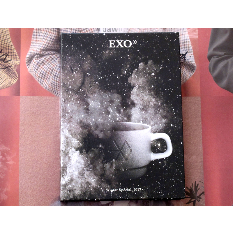 EXO autographed hand signed Universe Christmas Album CD+photobook+signed poster K POP 012018