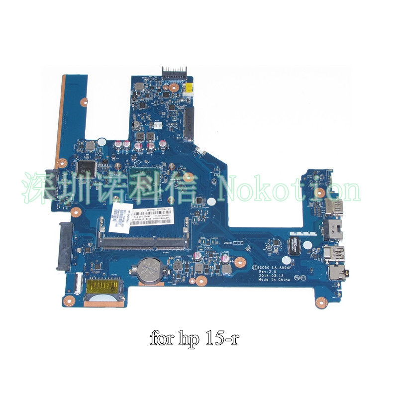 NOKOTION 764103-501 764103-001 ZSO50 LA-A994P for HP Compaq 15 15-R 15T-R 15-s laptop motherboard CPU nokotion zso50 la a994p 788289 501 788289 001 for hp compaq 15 15 r 15t r 15 s motherboard sr1yj n2840 cpu onboard