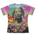 2016 лето в стиле рэп-звездой Snoop Dogg Печати 3d майка хип-хоп футболки для мужчин/женщин camisa masculina плюс размер S-XXL Бесплатная Доставка доставка