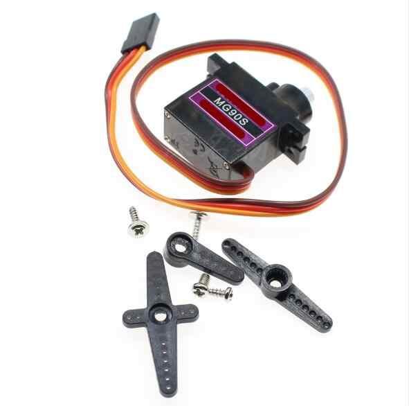 1 шт. металлические шестерни RC микро сервопривод 9g MG90S для Trex 450 RC робот Вертолет