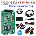 HW V4.036 KESS V2 OBD2 Gerente Sintonia Kit Mestre Versão V2.30 ECU Tuning Chip Ferramenta KESS V2 Sem Tokens Limitada ECM_Titanium SW