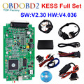 HW V4.036 KESS V2 V2.30 OBD2 Manager Tuning Kit Master Version KESS V2 No Tokens Limited ECU Chip Tuning Tool ECM_Titanium SW