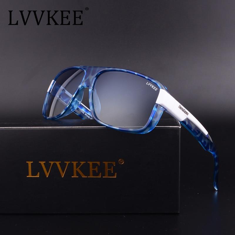 2018 LVVKEE Luxe Merken Goggles sport Gepolariseerde Heren Driver - Kledingaccessoires