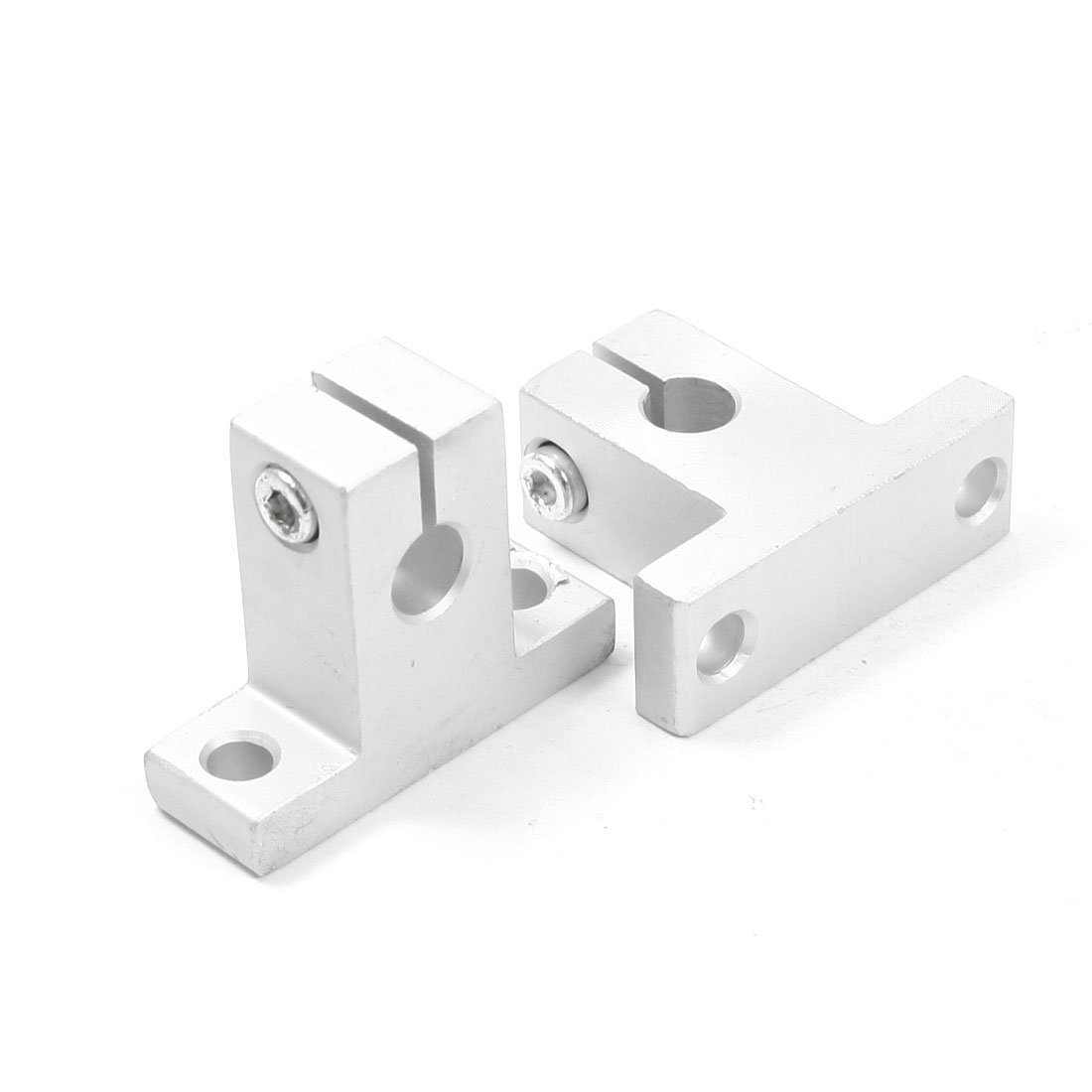 все цены на CNIM Hot 2Pcs SK8 8mm Linear Rail Shaft Clamping Guide Support for XYZ Table онлайн