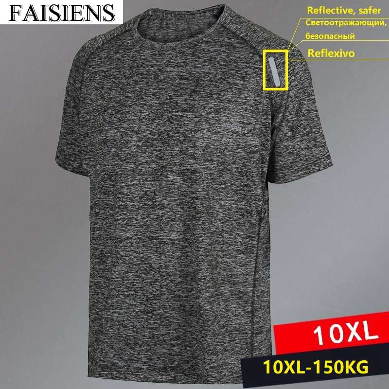 Mens Muscle T-shirt Blue Heather Crew Neckline Fruit of the Loom Solid NWT S M