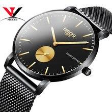 NIBOSI Unisex Uhr Casual Uhren Frauen Analog Uhren Dünne Uhr Wasserdicht Mode Kleid Armbanduhr Relogios Masculions Armbanduhr-frauen-kleid-armbanduhr-quarz-gold-men Uhr