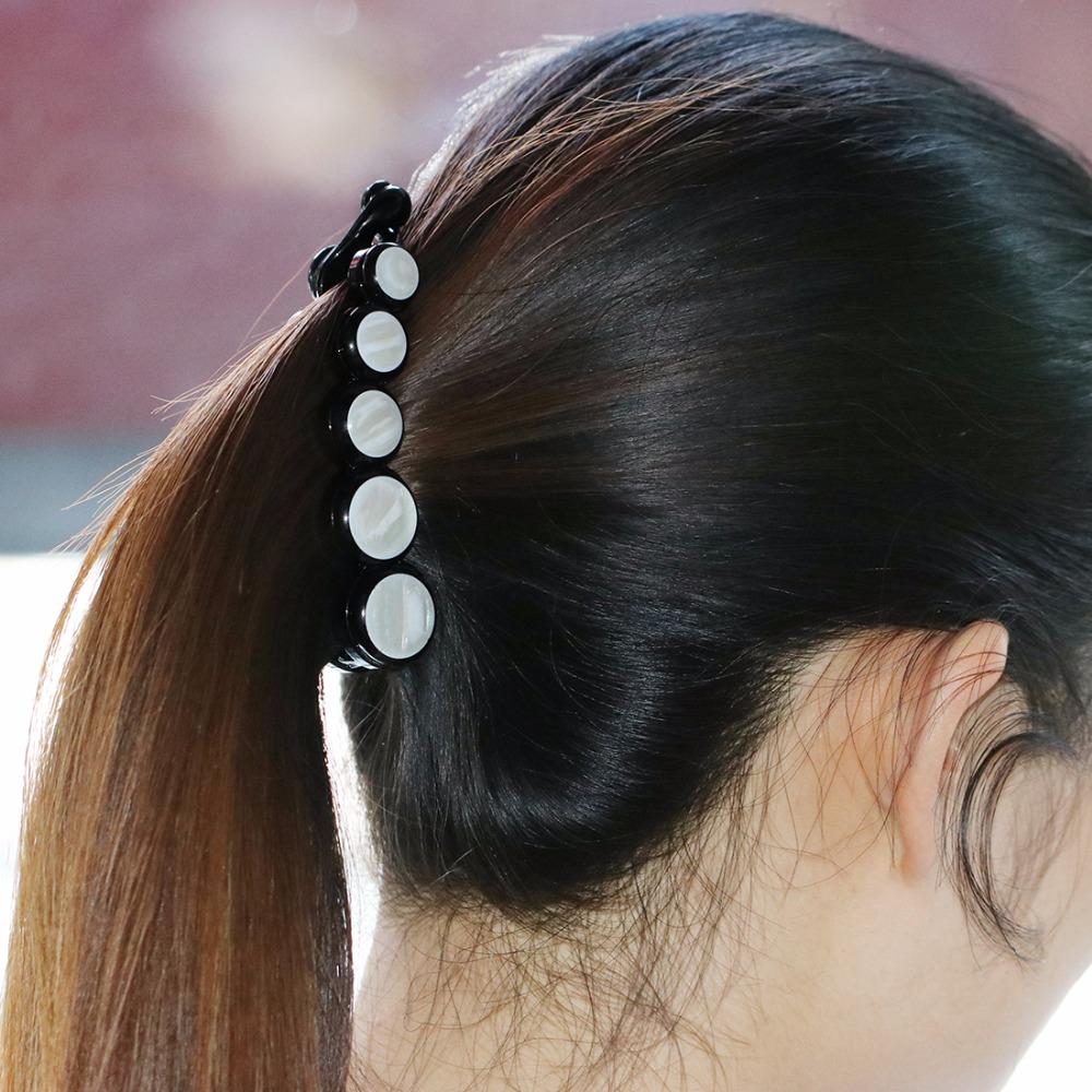 HTB1PV43SXXXXXayXFXXq6xXFXXXl Elegant Rhinestone Crystals And Faux Pearl Hair Clamp For Women - 5 Styles