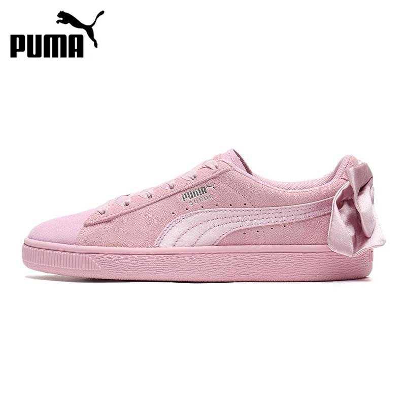 puma bow suede