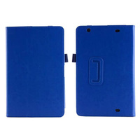 High Quality Luxury Crazy Horse Pattern Magnetic Folio Stand Leather Case Cover For LG G Pad