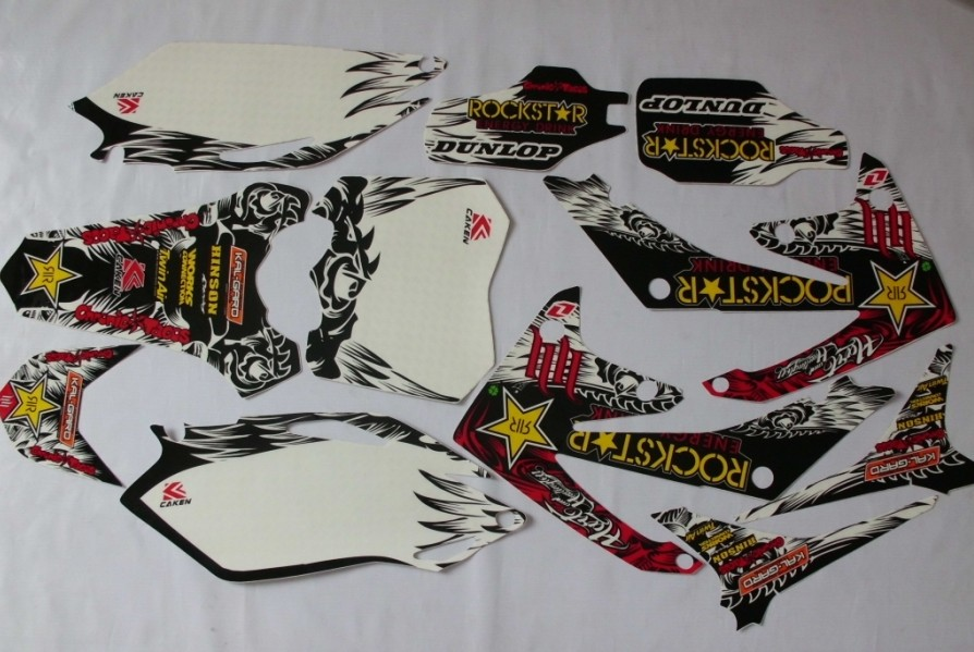 2010 2011 CRF250R 2012 2013 motorcycle motocross graphics kit DECALS stickers for honda moto dirt pit