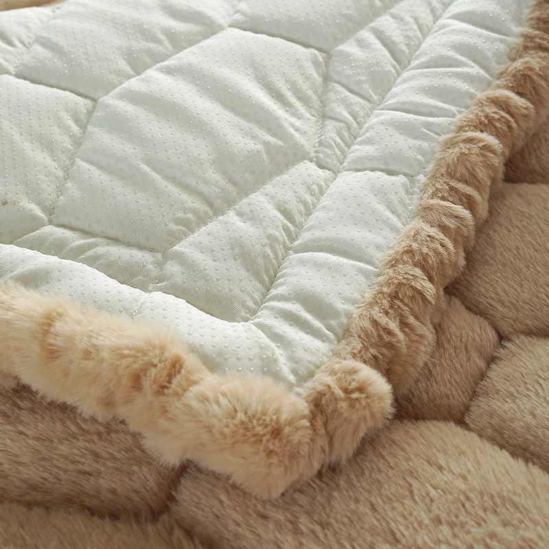 Funda de sofá de felpa de invierno peludo, suave funda de forro polar de Coral antideslizante funda de sofá Toalla de sofá para decoración para sala de estar