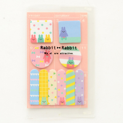 Dropwow Cute Animals Design Memo Pad Paper Schedule Marker Weekly