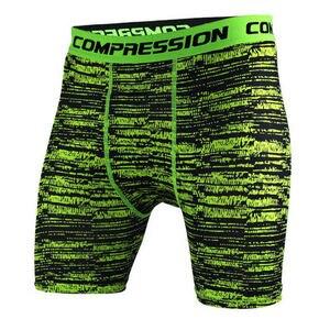 Мужские камуфляжные облегающие шорты для бега, компрессионные быстросохнущие шорты, мужские спортивные шорты для бега, фитнеса, тренировок...