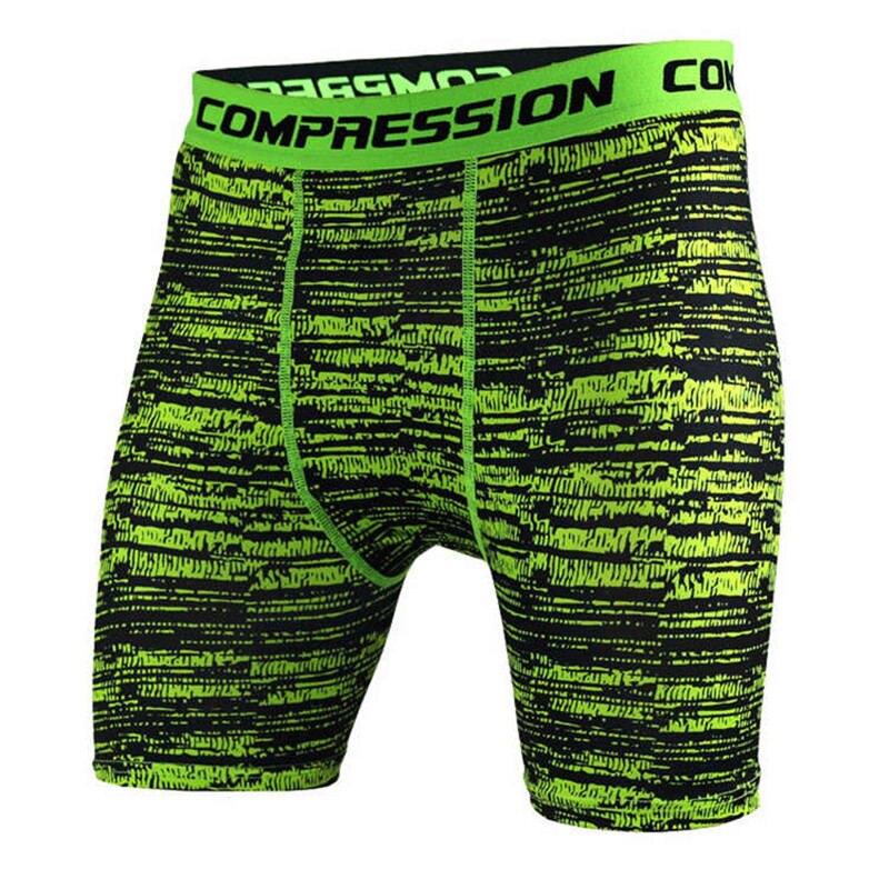Mens CrossFit camuflaje pantalones cortos ajustados Correr entrenamiento  compresión de secado rápido gimnasio jogging entrenamiento de fitness  Bermudas ... 8d1a335b2f3be