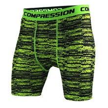 Mens Camuflaje Tight pantalones cortos Para Correr entrenamiento Crossfit Gimnasio jogging entrenamiento de la Aptitud de compresión de secado rápido Bermudas Medias