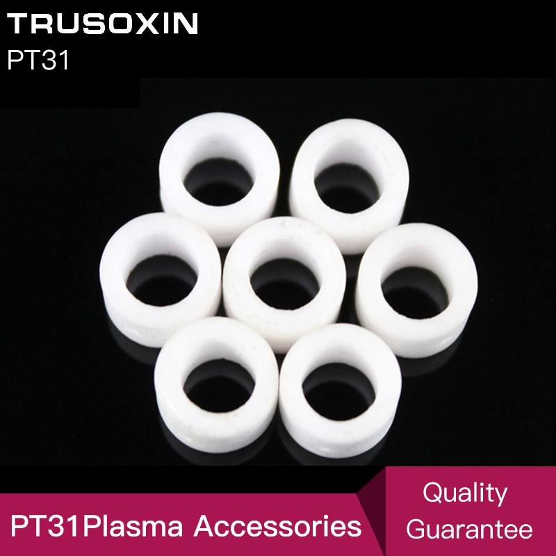 Cutting Accessories 30 Pcs PT31 Torch Consumables Gas Ring For  Cut40 Cut30 Cut50 CT520 Inverter Plasma Cutter
