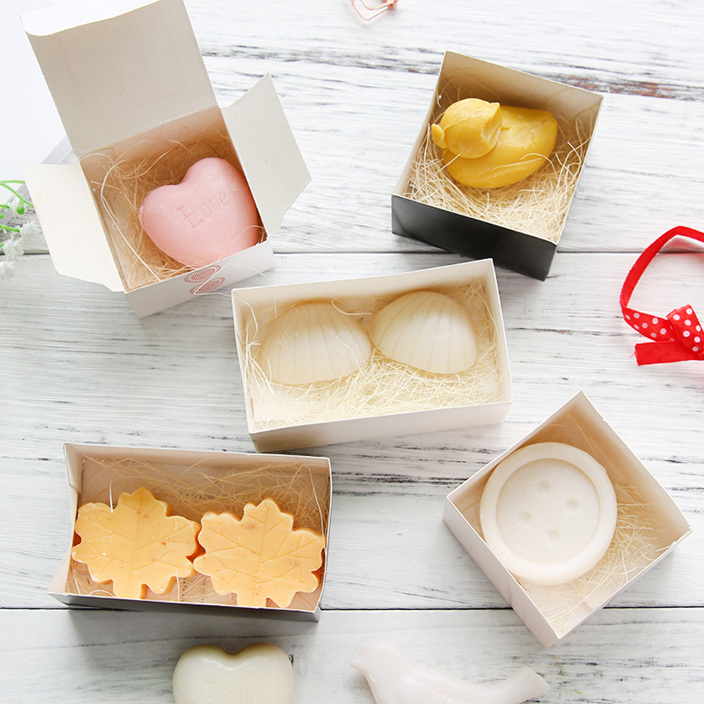 Snowflake Shaped Small Boxed Soap Handmade Baby Birth Shower Bath ...