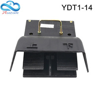 foot switch yd t1 14 cast iron bidirectional up and down pedal switch silver contact hydraulic bending machine