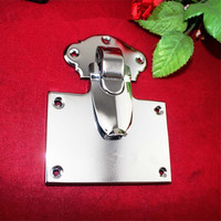 Silver Color Lock Metal Chest Gift Box Suitcase Case Buckles Toggle Hasp Latch Catch Clasp Furniture Hardware,105*133mm,1PC
