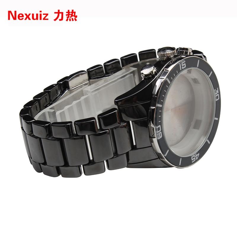 NEW Watchbands,black 22mm High Quality Ceramic Watchband Diamond Watch fit AR1429  Man watche Bracelet watch accessories карабин black diamond black diamond rocklock twistlock