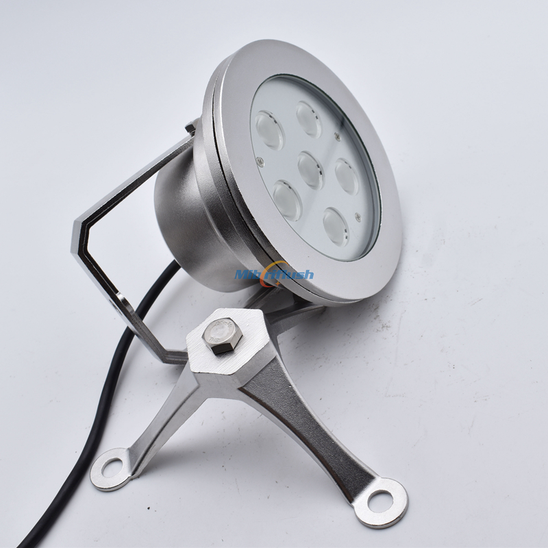 316 stainless steel 24V 18W IP68 Swimming Pool Light White Color Changing LED Underwater Pond Light RGB 3in1 LED fountain light 100% ip68 waterproof 304 stainless steel recessed led swimming pool light rgb underwater light 9w white fountain lamp dc24v