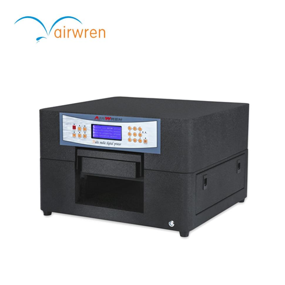 PLEIN fermée CISS UV cas de téléphone imprimante A4 commerciale 3d machine d'impression à vendre