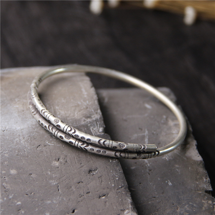 silver silver 925 sterling silver bracelets Do old vintage ms contracted open fine hand ring Handmade silver Thailand 2018 new rushed men anel feminino chiang mai thailand handmade 925 sterling contracted temperament ring ms male food rings