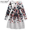 2016 Party Girls Dress Winter Girls Clothes Autumn Kids Dresses Girl Dress Elsa Dresses for Girls 8 9 10 11 12 13 14 Years Old