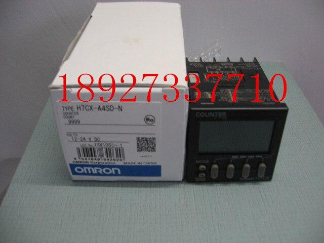 [ZOB] Supply original omron Omron digital counter H7CX-A4SD-N relay [zob] 100% new original omron omron proximity switch e2e x10d1 n 2m