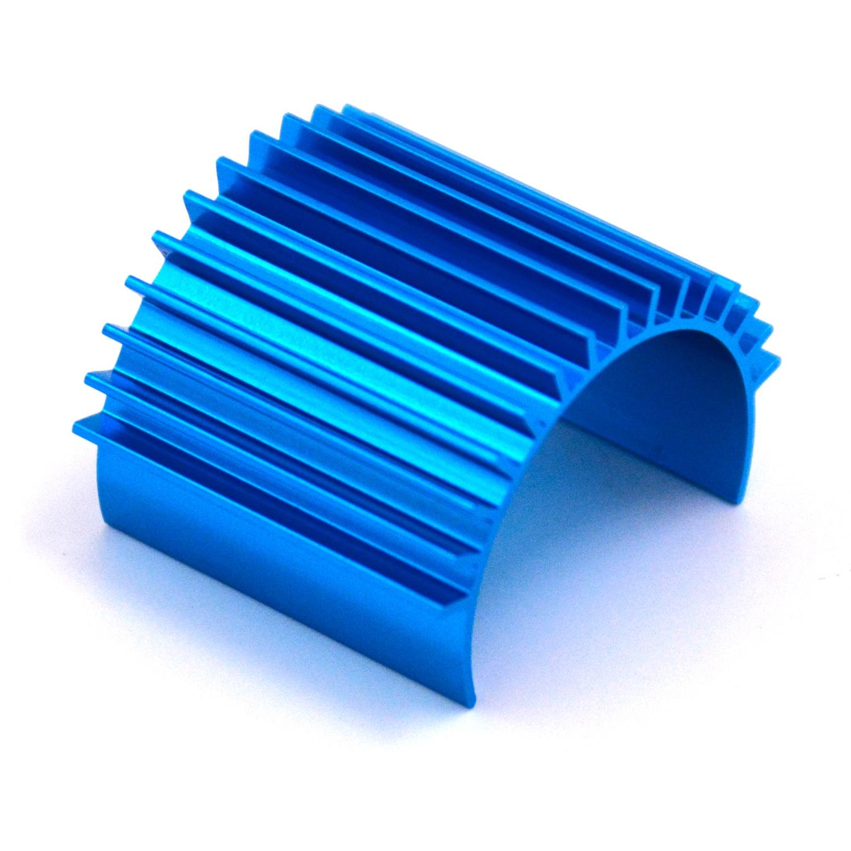 Blue Aluminum Motor Heat Sink Heatsink For 370 380 2440 Motor RC Model Car Motor