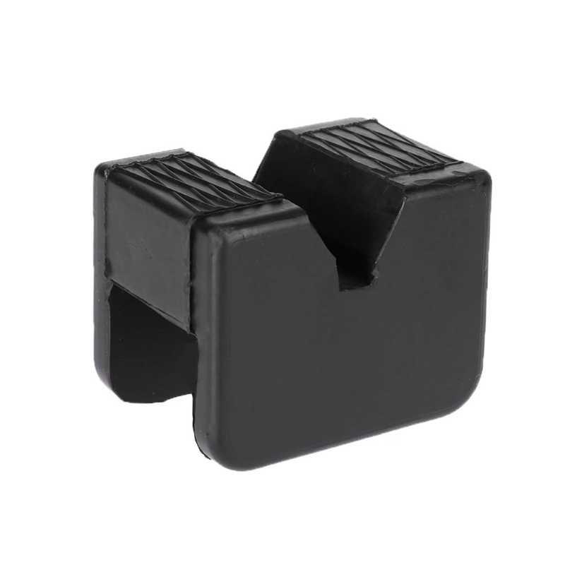 1 PC Square Universal Auto Mobil Slotted Bingkai Rail Jack Penjaga Adaptor Pad Kendaraan Alat Perbaikan