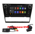Quad Core 1024*600 Touch Screen Car Stereo for BMW E90 Android 5.1 DVD E91 Wifi 3G GPS Bluetooth Radio SD Canbus Free Camera+DVR