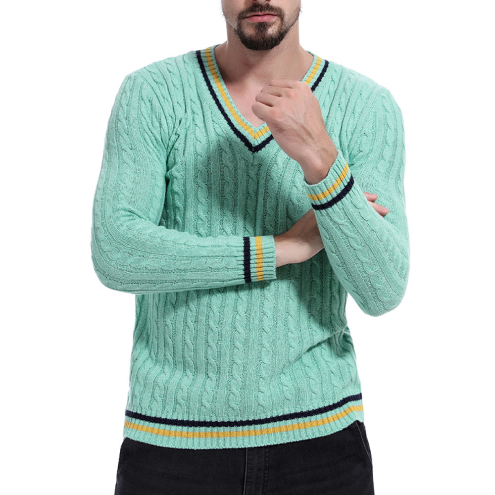 100% Wahr Feitong Pullover Pullover Männer Herbst Pullover Gestrickte Top Solide Pullover Outwear Bluse Jumper KöStlich Im Geschmack