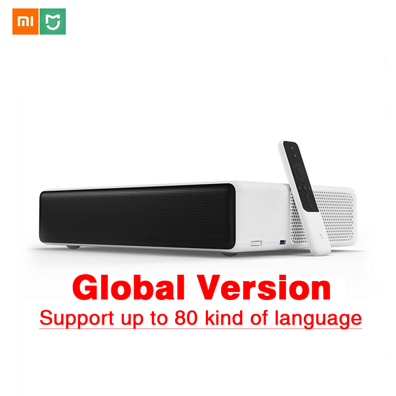 Original Xiaomi Mijia Laser Projector TV 150 Inches Multilingual 1080 Full HD 3D ALDP 3.0 Support 4K Video TV Dolby DTS image