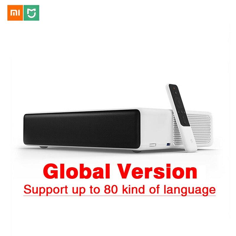 Original Xiaomi Mijia láser proyector TV 150 pulgadas multilingüe 1080 Full HD 3D peroxisoma 3,0 4K Video TV dolby DTS